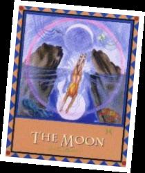 Healing Earth Moon Card