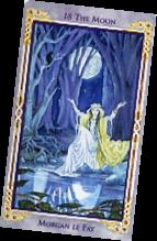 Legends , The Arthurian Tarot, Moon