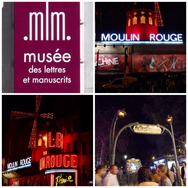 Documents and Manuscripts Museum and Moulin Rouge